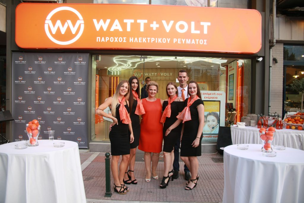 WATT+VOLT Larissa Store Group Photo