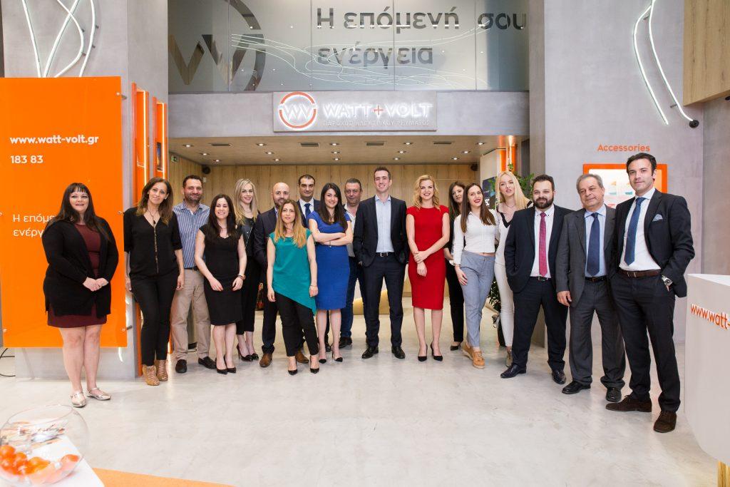 WATT+VOLT Store Thessaloniki Group Photo