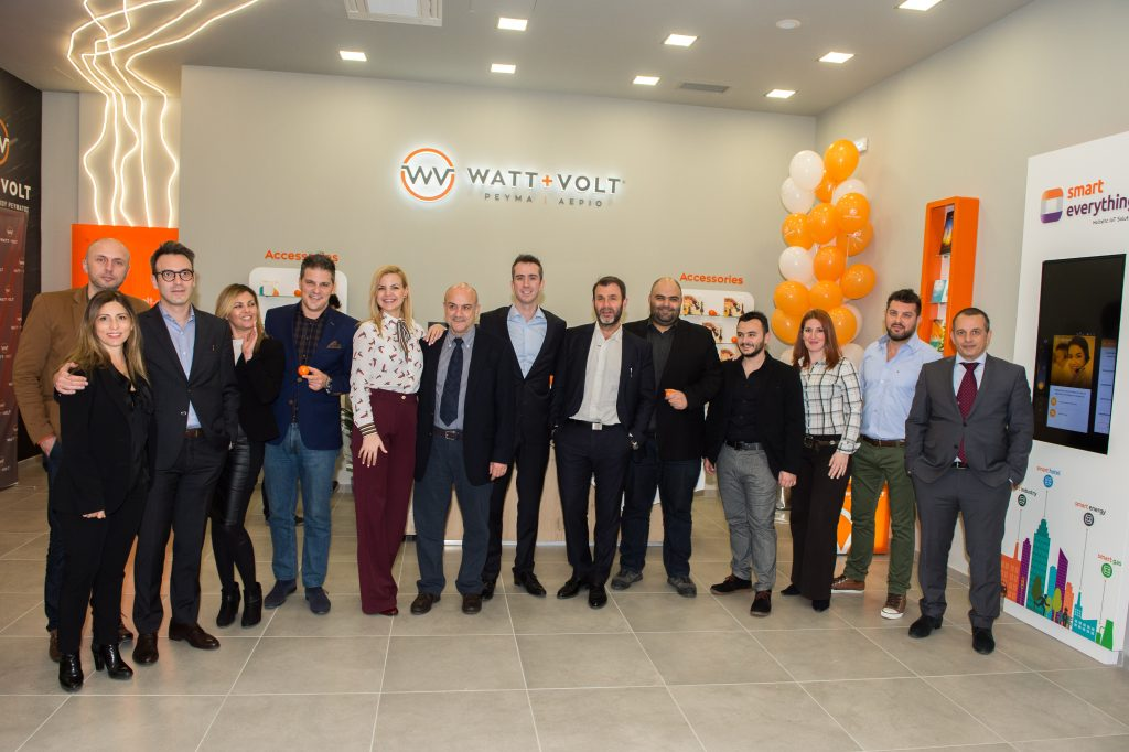 WATT+VOLT Team Photo at Patra's Opening