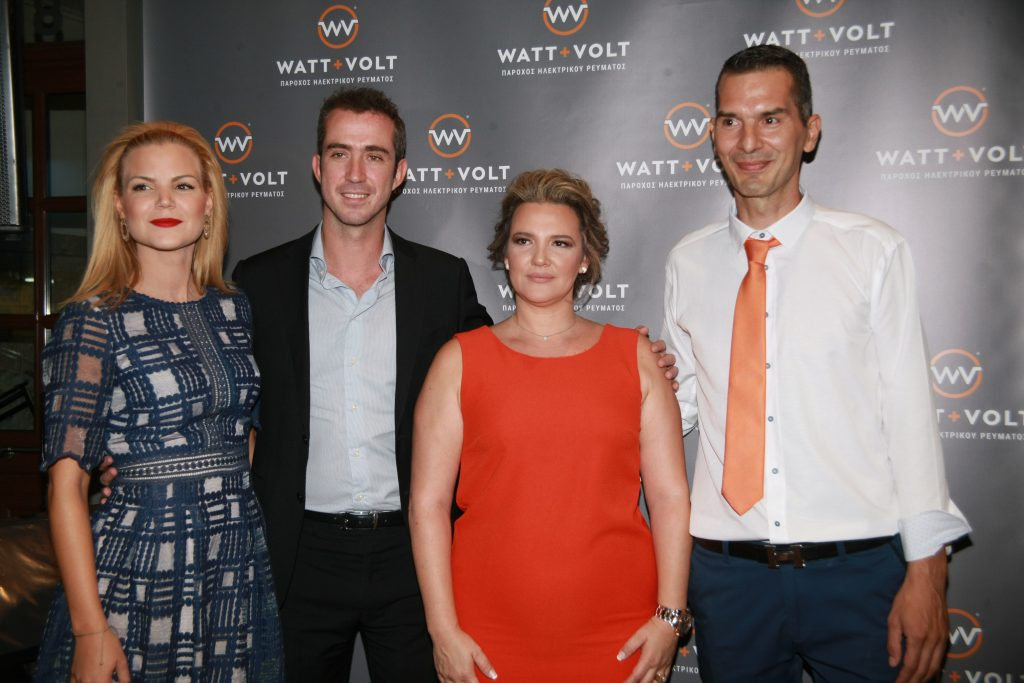 WATT+VOLT Larissa Store Opening Executives