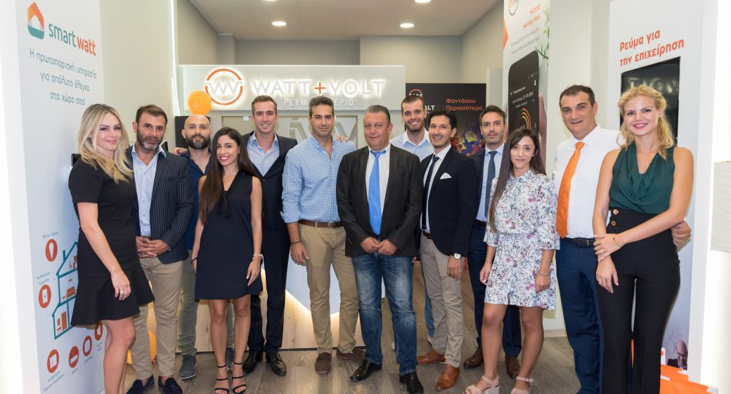 WATT+VOLT's Executives Xanthi Store Opening